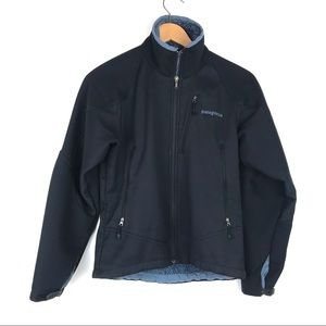 Patagonia R Series zip front fleece lined jacket